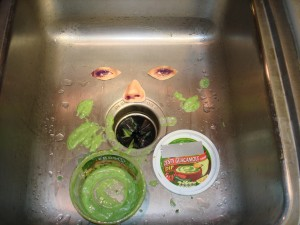 Sink Monster!!!
